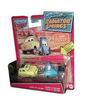 Luigi i Guido Autka Cars...