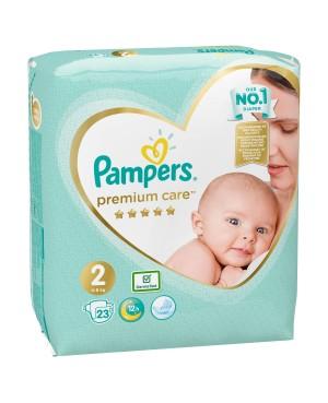 PAMPERS Premium Care 2 pieluchy 23 szt. pieluszki
