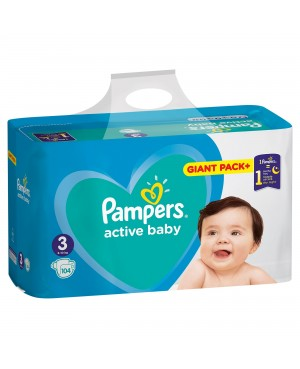 PAMPERS active baby 3...