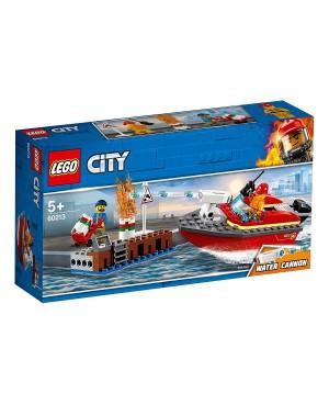 LEGO 60213 CITY POŻAR W DOKACH