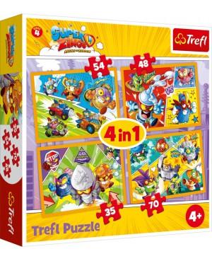 PUZZLE 4w1 SUPER ZINGS...