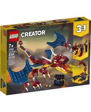 LEGO 31102 CREATOR SMOK OGNIA