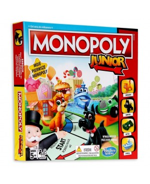 MONOPOLY JUNIOR GRA...