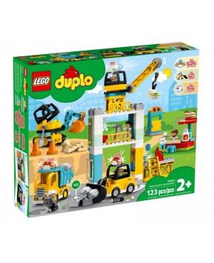 LEGO 10933 DUPLO Żuraw wieżowy i budowa