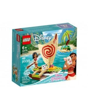 LEGO 43170 Disney Princess Oceaniczna przygoda Vaiany