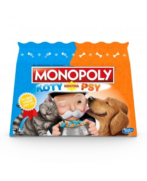 MONOPOLY Koty kontra Psy Hasbro