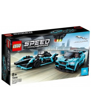 LEGO 76898 Speed Formula E Panasonic Jaguar Racing GEN2 car i Jaguar I-PACE eTROPHY