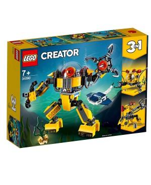 KLOCKI LEGO 31090 CREATOR PODWODNY ROBOT