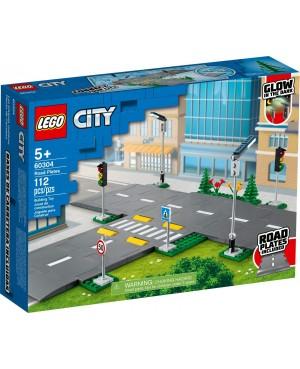 LEGO 60304 City Płyty drogowe