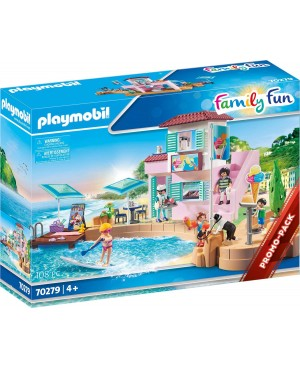 Playmobil 70279 Family Fun  Lodziarnia w porcie