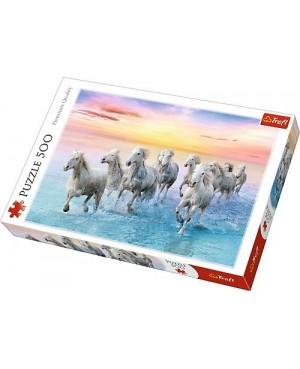500 elementów Białe Konie w...