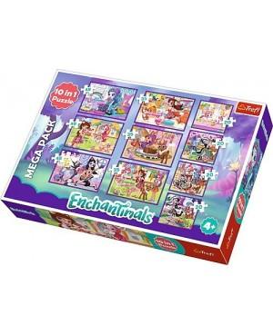 Puzzle 10w1 Enchantimals - Przygoda