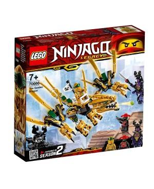 KLOCKI LEGO 70666 NINJAGO ZŁOTY SMOK