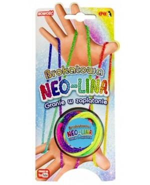 Brokatowa NEO-LINA gra w zaplątanie Neolina EPEE