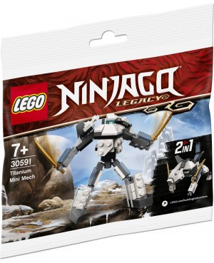 LEGO Ninjago 30591 Tytanowy...