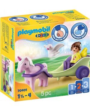 Playmobil 70401 1.2.3 Powóz jednorożca z wróżką