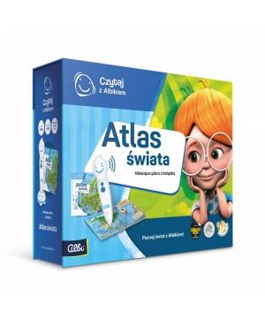 Zestaw Atlas Świata + Pióro...