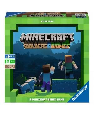 Minecraft Builders & Biomes gra planszowa Ravensburger 268672