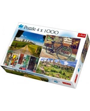 Puzzle 4x1000 Toskania...