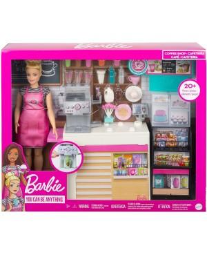 Lalka Barbie Kawiarenka...
