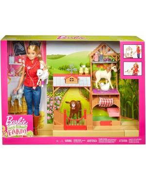 Lalka Barbie Weterynarz na...